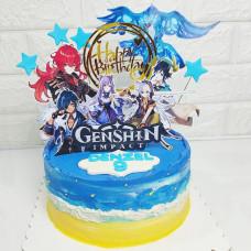 Торт по игре Genshin impact