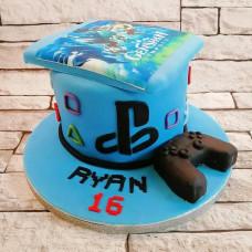Торт Playstation и Геншин Импакт