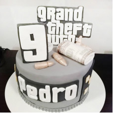 Торт Grand Theft Auto