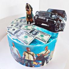 Торт ГТА на день рождения мальчику