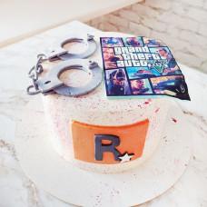 Торт ГТА для девочки