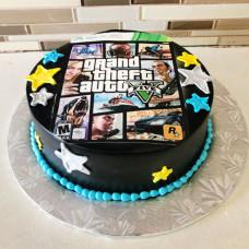 Торт ГТА для мальчика