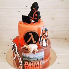 Торт на тему игры Half-Life