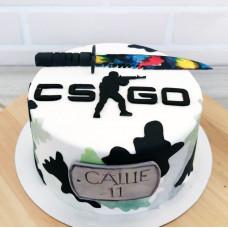 Торт КС ГО на день рождения