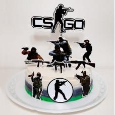 Торт Counter-Strike