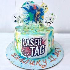 Торт Лазертаг для мальчика