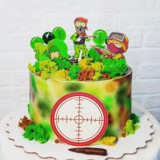 Торт в стиле Лазертаг