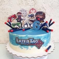 Торт Laser tag