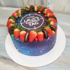 Торт для фаната Лазертаг