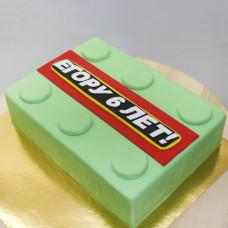 Торт Кубик Лего