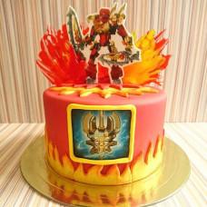 Торт Лего Бионикл