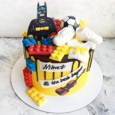 Торт Лего Бэтмен мальчику