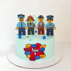 Торт Лего Сити на ДР
