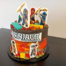 Торт с Лего Ниндзя