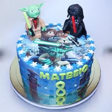 Торт в стиле Лего Звездные войны