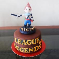 Торт Лига Легенд на день рождения