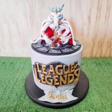 Торт Лига Легенд для мальчика