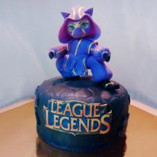 Торт по игре League of Legends
