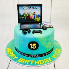 Торт для детей Майнкрафт