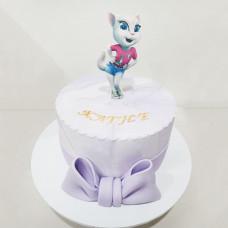 Торт кошка Анжела
