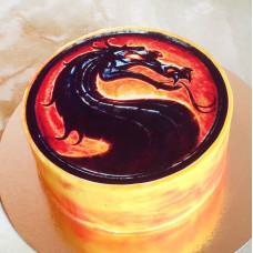 Торт Мортал Комбат на день рождения