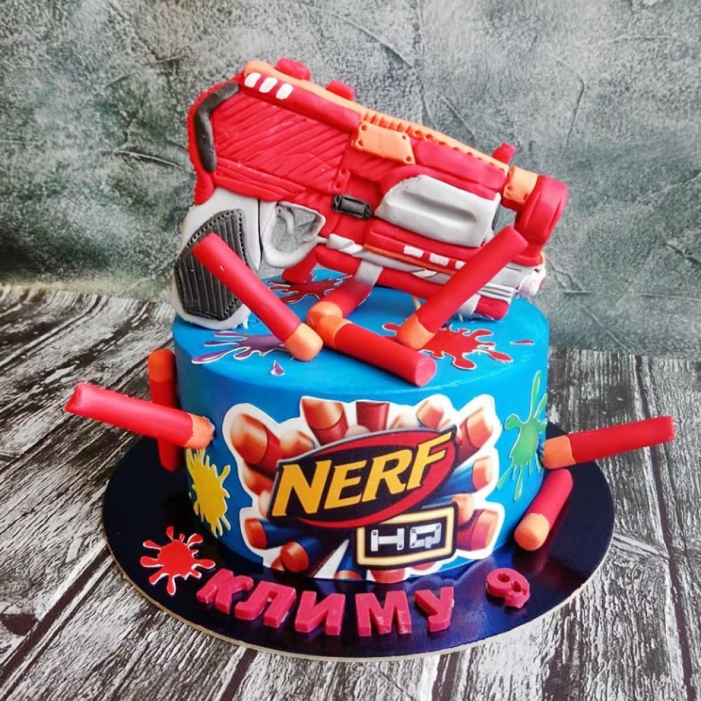 Торт Бластер Nerf