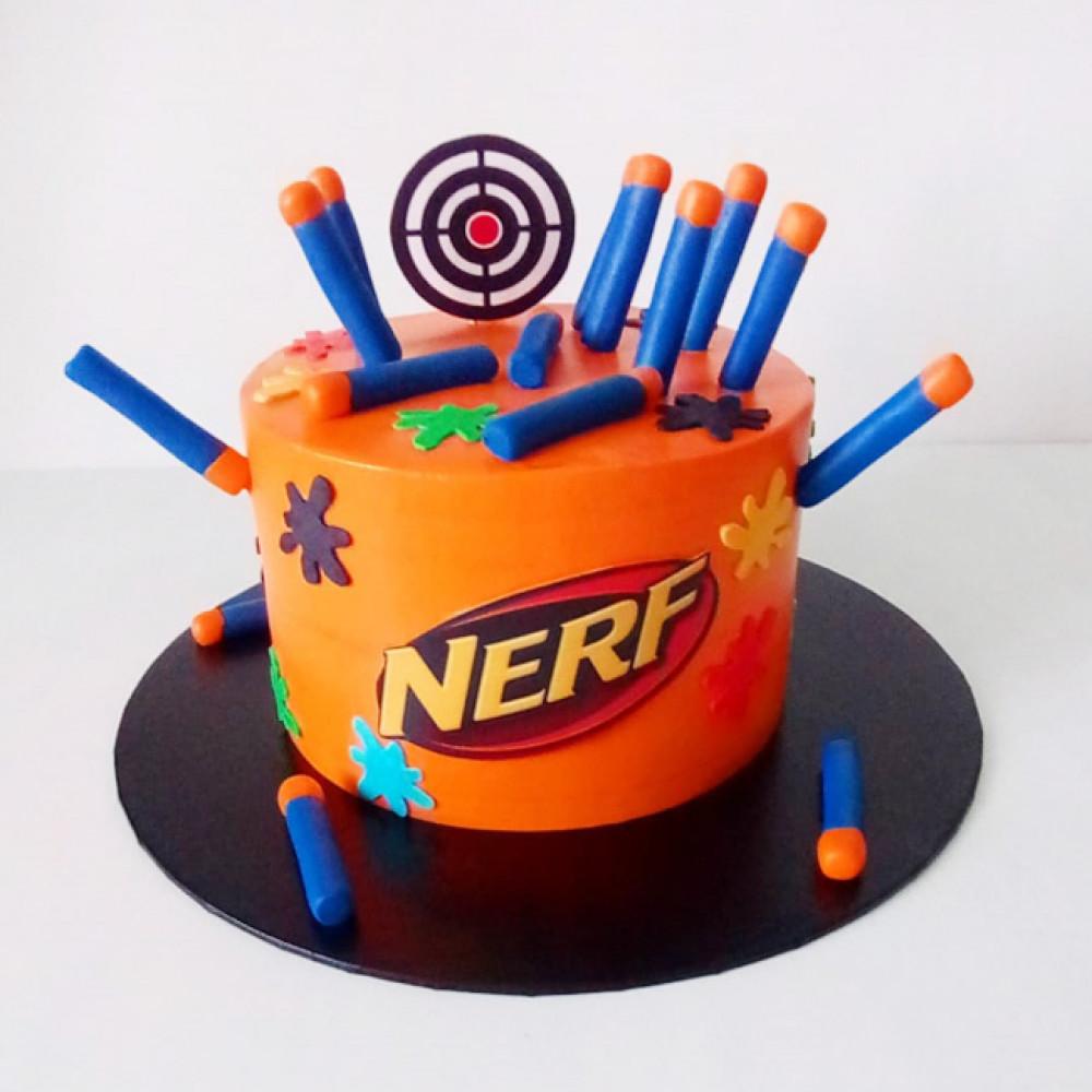 Торт с патронами для Нерф