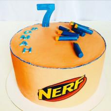 Торт Nerf на 7 лет