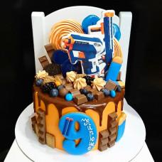 Торт в виде Нерфа