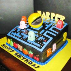Торт Пэкмен на день рождения