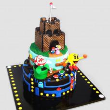 Торт Марио и Пакман