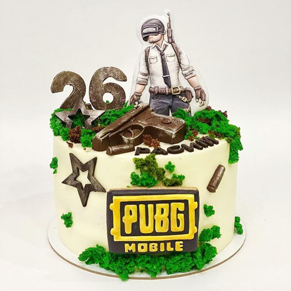 Торт PUBG mobile