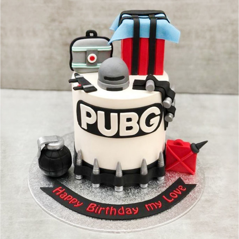 Торт PUBG мужу