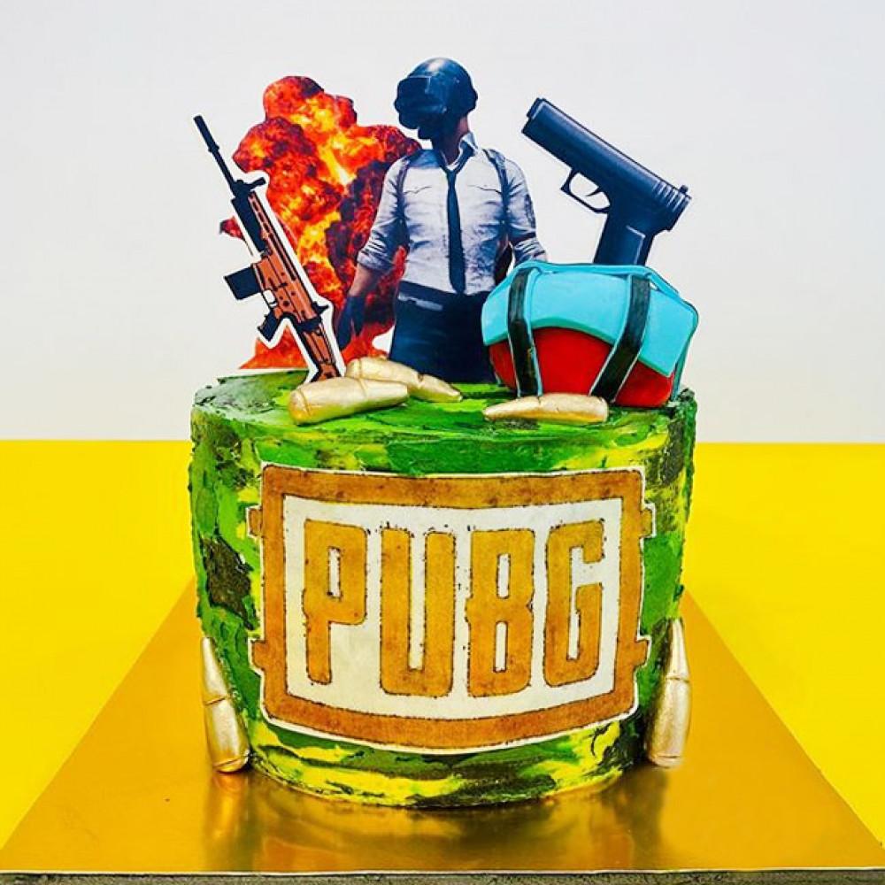 Торт PUBG на день рождения