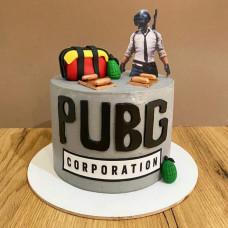 Торт PUBG с 3D фигуркой