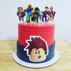 Торт с героями Роблокс