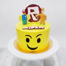 Торт Roblox и Lego