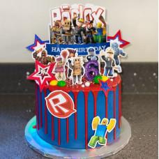 Детский торт Роблокс