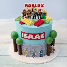 Торт в виде Роблокса