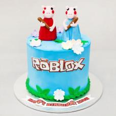 Торт Роблокс для девочки 10 лет
