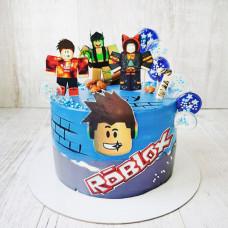 Торт Роблокс на день рождения