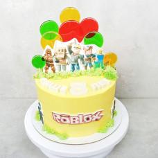 Кремовый торт Роблокс
