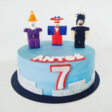 Торт в стиле Роблокс