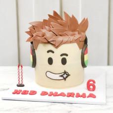 Торт на 6 лет Роблокс