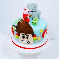 Торт Roblox для мальчика