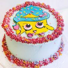 Кремовый торт Шопкинс