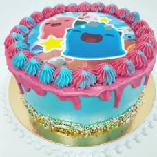 Торт Cлайм без мастики