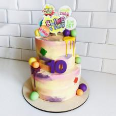 Большой торт Слайм Ранчер