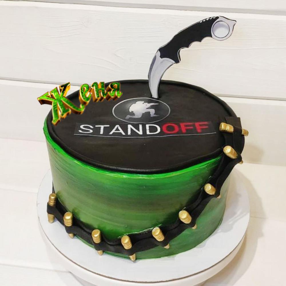 Торт Standoff 2 для мальчика