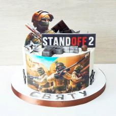 Торт Standoff 2 на день рождения